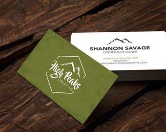 Custom Business Card Design, Business Card Design, Calling Card Design, Business Calling Cards