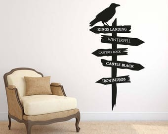 Game Of Thrones Style - Wall Decal Wall Sticker - Home - Office - Wall Art - GOT