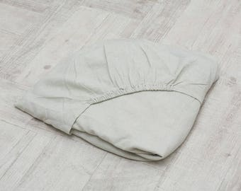 Fitted Sheet Linen 100% Softened washed linen sheet Fitted sheet Natural linen fitted sheet Flax Linen bedding Natural bedding