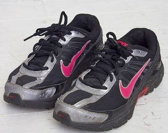 Vintage Black And Pink NIKE Trainers