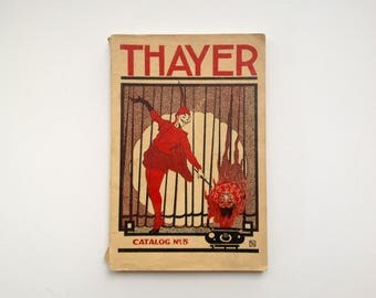 Thayer Catalog No. 5 - 1921 - Antique / Vintage - Magic Tricks and Illusions