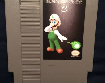 Luigi Chronicles 2 NES Game
