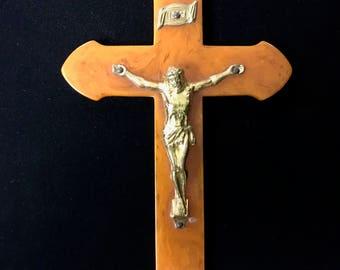 Vintage Bakelite Crucifix