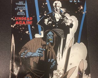 The Frankenstein Dracula War # 1 Comic by Topps Comics