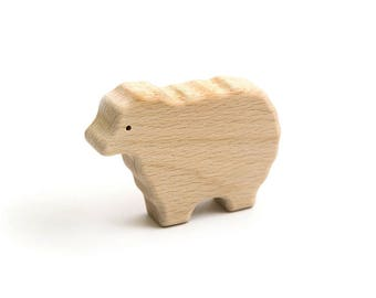 Sheep | Farm animal | wooden toy |