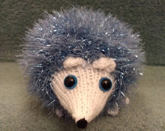 Small knitted hedgehog