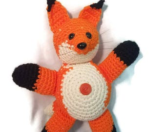 Crochet Fox Plushie