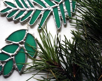 Christmas Greenery Necklaces