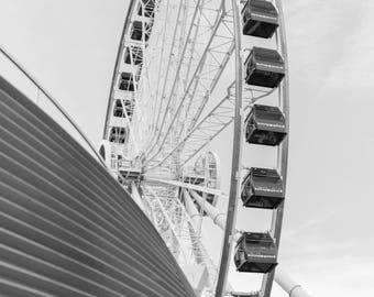 Navy Pier Ferris Wheel Print II
