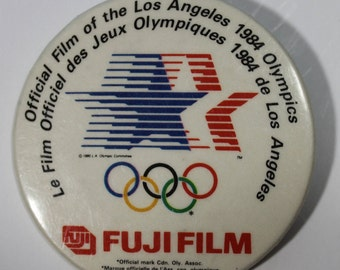 1984 Los Angeles Olympic ~ Fuji Film Pinback Button