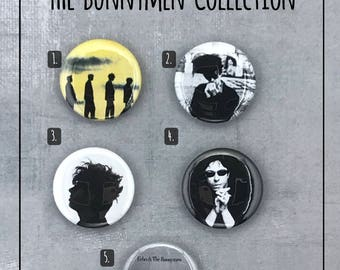 "Echo & The Bunnymen 1"" Button Collection - NEW!"