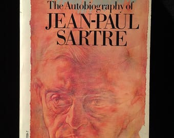 The Words: The Autobiography of Jean-Paul Sartre - 1981 paperback