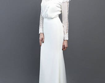 bohemian style wedding dress country style gown open back macrame lacelace