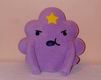 Adventure Time LSP (Lumpy Space Princess). Fleece toy pillow