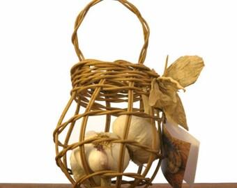 Garlic Keeper Basket