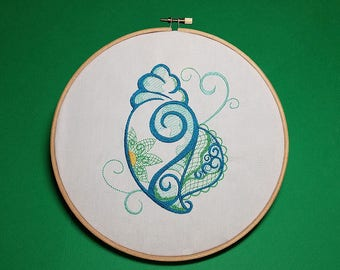 Conch Shell - Machine Embroidery Design