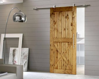 Sliding Barn Doors, Barn Door, Interior Wood Door, Rustic Home Decor,  Sliding