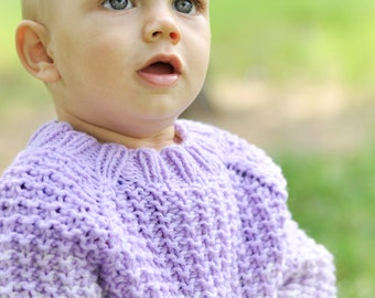 Children's tiny sweater, handmade, made of soft and very soft thread