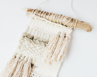 Woven Wall Hanging | Weaving | Wall Decor | Tapestry | Neutrals