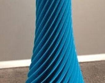 ONSALE. Spiral vase vaso home forniture made in italy design gifts love vaso come ceramica vaso per fiori