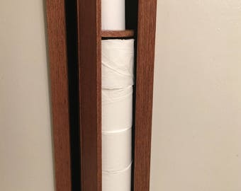 Toilet Paper Holder and Storage, In-wall TP cabinet, toilet paper storage, toilet tissue storage