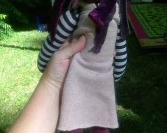 Jolene~handmade,  lavender filled doll
