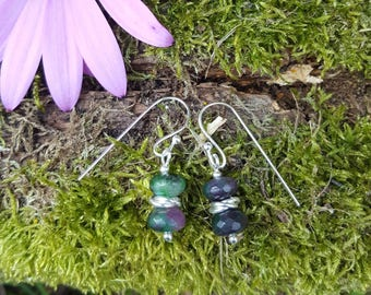 Multicolour Quartz Earrings