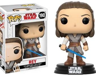 Rey from Star Wars Movies - POP Funko Figure 10 cm