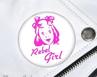 Rebel Girl Badge