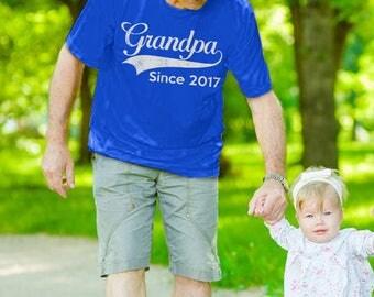 Grandpa shirt, Grandpa tobe shirt, grandfather shirt, grandpa begin shirt, grandfather since shirt, gift for grandpa, gift for grandpa