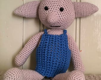 Amigurumi Dobby The House Elf