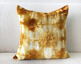 Gold Accent Pillow Etsy