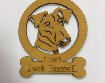 Jack Russell Dog Ornament
