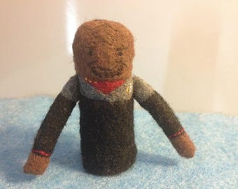 Worf Finger Puppet