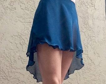 Custom Aurora Adage Skirt High Low
