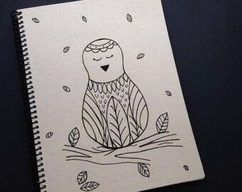 Serena bird notebook