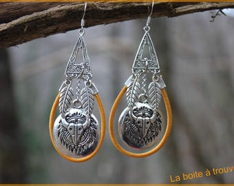 "Earrings ""Spirit animal"""