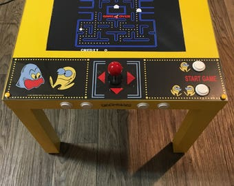Minimalist Retro Arcade Table