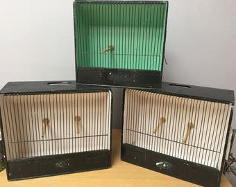 vintage wooden birdcages (sold individually)