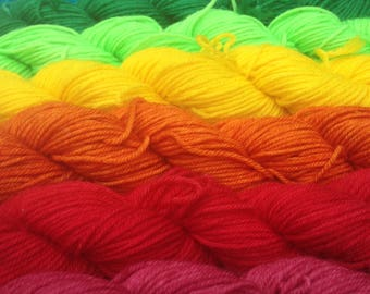 Tonals - Minis and Full Skeins - Dyed to Order