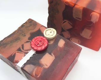 Rose and Berries - Handmade Soap, Natural Soap, Homemade Soap, All Natural, Vegan Soap, Bath and Beauty, Soap, Soaps, Organic Soap, gift