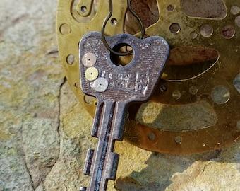Vintage Steampunk Key Necklace