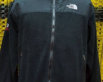 Vintage THE NORTH FACE / small embroidery logo / full zipper / Large size