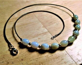 Gorgeous genuine Aquamarine necklace