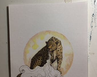 The Leopard. (Limited Edition Fine Art Print.)