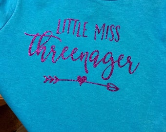 Little Miss Threenager