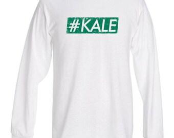 Kale '#Kale' Vegan  - Unisex long sleeve top