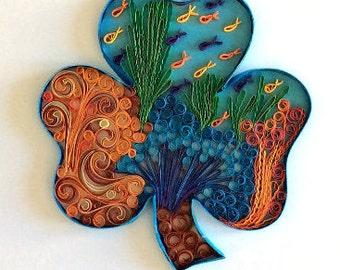 Shamrock Irish Reef - Original art piece