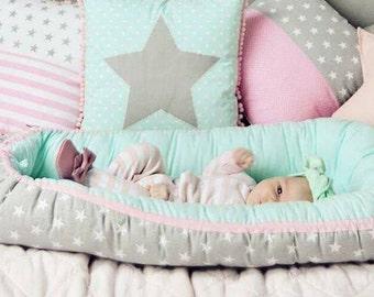 Baby Nest, 0-9 months  Mat for baby, for newborn, babynest bed, cot sleeper, baby nest