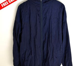 Windbreaker M L Vintage windbreaker 90s windbreaker Vintage bomber jacket 90s windbreaker Vintage jacket M L Retro windbreaker 90s clothes